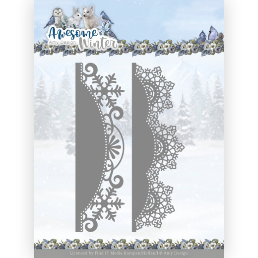 Dies - Amy Design - Awesome Winter - Winter Lace Border