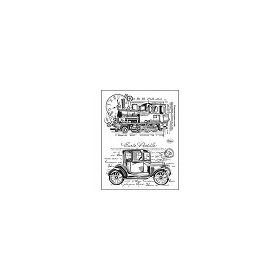Silicone Stamps - Oldtimer