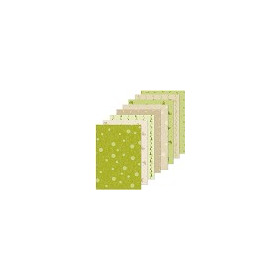 Christmas design papier assortiment groen/beige 16 x A5