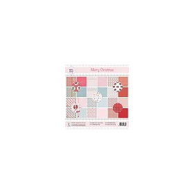 Rosa Dotje Merry Christmas 6x6 Inch Paper Pack