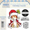 Makey Bakey Mice Christmas Rubber Stamps - Christmas Seasons by