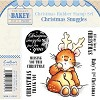 Makey Bakey Mice Christmas Rubber Stamps - Christmas Snuggles by
