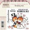 Makey Bakey Mice Everyday Rubber Stamps - Wedding Day by Crafter