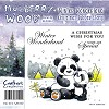 Mulberry Hout Kerst Rubber Stamp - Winter Wonderland van Compani