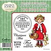 Paintbox Poppets Winter Collection Rubber Stamp - Christmas Miss