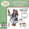 Paintbox Poppets Winter Collection Rubber Stamp - Goose Girl by