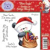 Party Paws Rubber Stamp - Dear Santa
