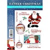 Father Christmas A5 Rubber Stamp by Crafter`s Companion