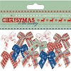 Large Ribbon Bows (12pcs) - Christmas in the Country