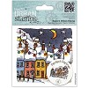 4x4 Urban Stamp - Michael Powell (Christmas Lights)