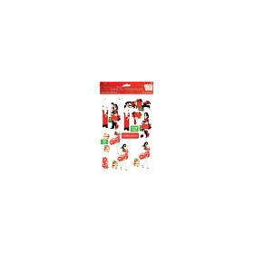 A4 Glittered Decoupage Pack - Strictly Christmas 31