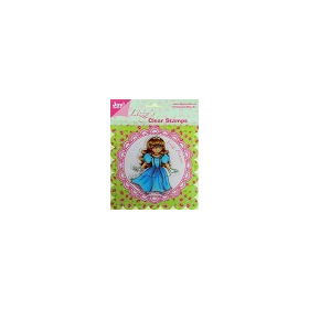 Joy!Craft Lizzy`s Clear Stamp - Princess