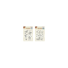 Clear stamps Horse/Bears - SET