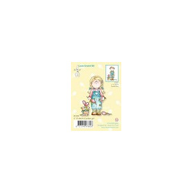Clear stamp Bambini garden girl #JAN13