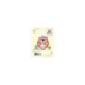 Clear stamp Owl Pipa at party