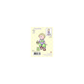 Clear stamp Bambini party boy