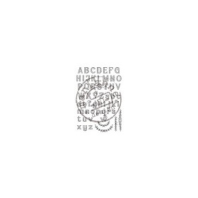 Clear Stamp Eline`s alfabet #JUN14
