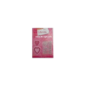 COL1307 Collectables set Candy hearts GB #JAN13