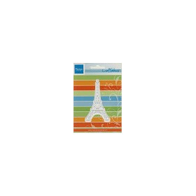 Craftables stencil Eiffel tower #JUL