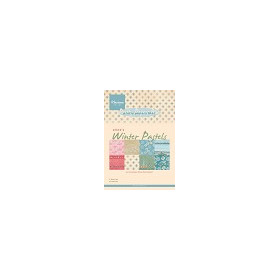 Marianne Design Paper pad - Eline`s Winter Pastels #sep14