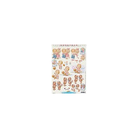 Doemaar 3D decoupage sheet A4 Morehead 11052-187
