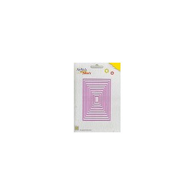 Nellie`s Multi Frame Die straight rectangle
