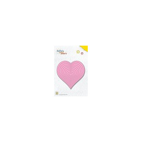 Nellie`s Multi Frame Die straight heart