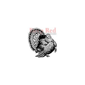 Turkey Rubber Stamp