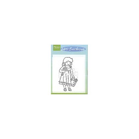 Little Sweetheart stamps - flowergirl