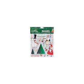 8x8 Urban Stamps - Noel (23pcs) Christmas Wishes