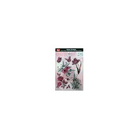 Stampila silicon Flowers & Butterflies Viva Decor