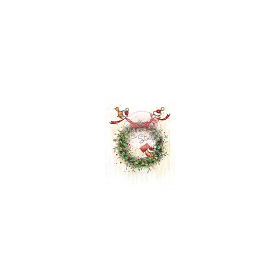 1 ST (1 ST) A7 stamp set Christmas Wreath