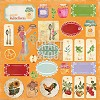 CP-MHG07 My Home Garden 07 Sheet of elements to be cut 12x12