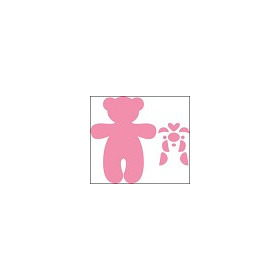 3 NOV Collectables set bear stencil set