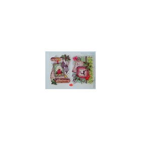 Viva Decor Silicone Stamps - Scroll Merry Christmas