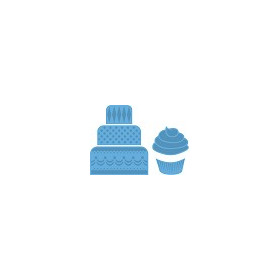 LR0341  Marianne D Creatable Mini cake & cupcake (New 01-15)