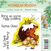 Moonbeam Meadow Rubber Stamp - Festive Cheer