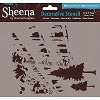 Sheena Decorative Stencil - City Trees