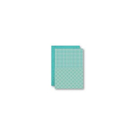 Background Sheets A4 turquoise retro