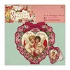 Decoupage Card Kit - Victorian Valentine