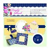 6 x 6'' Decoupage Card Kit - Simply Floral - Special Gift