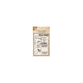 Clear stamps - wild west