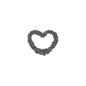 Marianne D Craftable Topiary Heart CR1302 (New 02-15)
