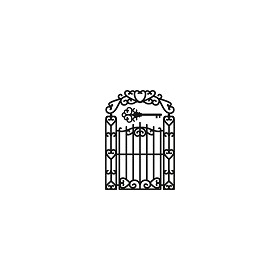Marianne D Craftable Garden Gate CR1304 (New 02-15)