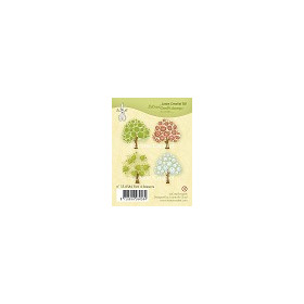 Clear stamp Tree 4 seasons
