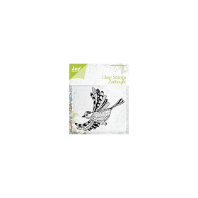 APR Joy! stempel zentangle bird 92 x 70 mm