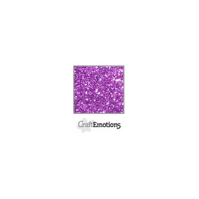 CraftEmotions glitterpapier 5 vel paars 29x21cm 120gr