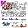 Color Cards 2 - Yvonne Creations - Voor Moeder