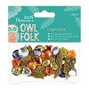 Charm Pack (32pcs) - Owl Folk