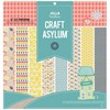 Craft Asylum Hello Sunshine Paperpad 10 sheets 30,5x30,5cm 480210 - double sided sheets